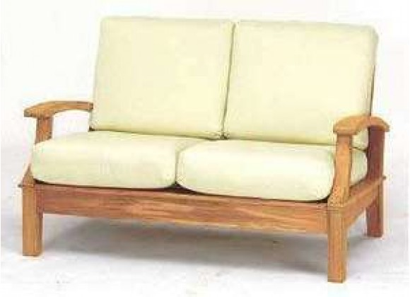 Anderson Teak Brianna Deep Seating Loveseat with Cushion