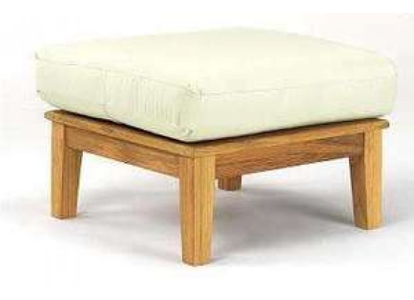 Anderson Teak Brianna Ottoman with Cushion