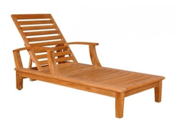 Anderson Teak Brianna Sun Lounger with Arm