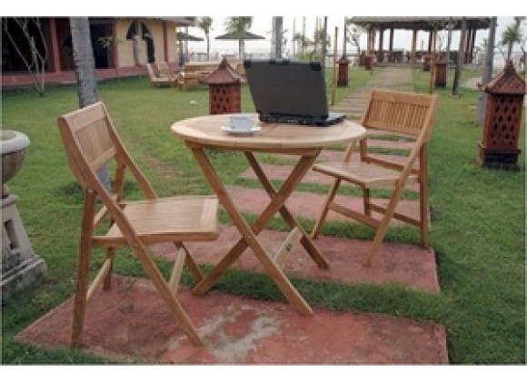 Anderson Teak Windsor Bistro Set 23
