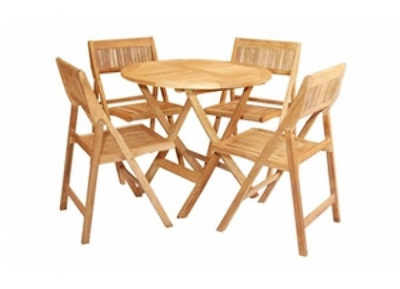 Anderson Teak Windsor Bistro Set 24
