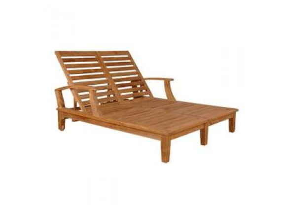 Anderson Teak Brianna Double Sun Lounger with Arm