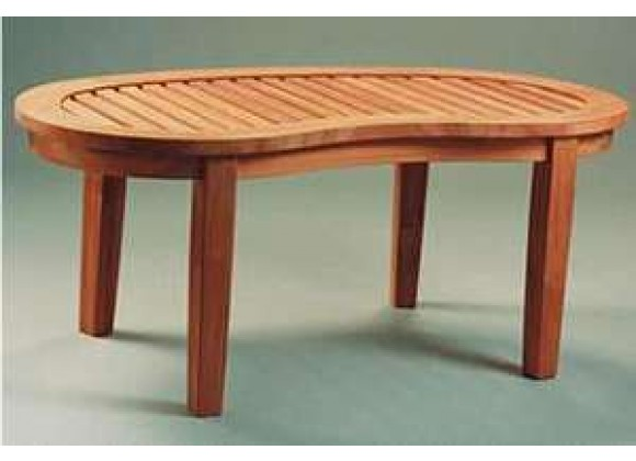 Anderson Teak Kidney Curve Table
