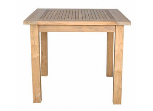 Anderson Teak Windsor 35-inch Square Table Small Slats
