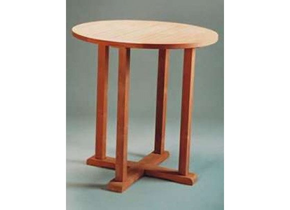 Anderson Teak Bahama 39-inch Round Bar Table