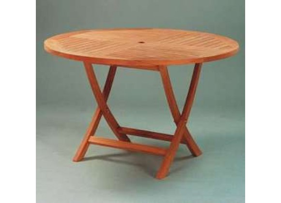 Anderson Teak Bahama 47-inch Round Folding Table