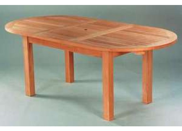 Anderson Teak Bahama 79-inch Oval Extension Table