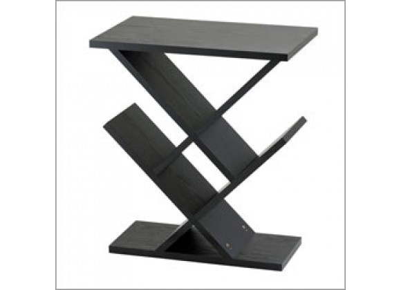 Adesso Zig-Zag Contemporary Style End Table Night Stand