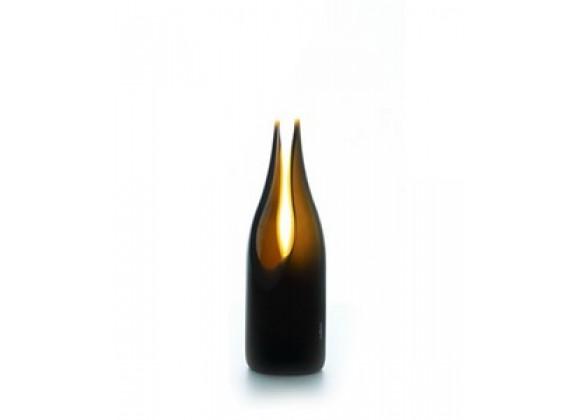 Artecnica tranSglass Cut Decorating Vase, Satin
