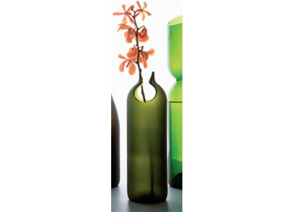 Artecnica tranSglass Beak Decorating Vase, Satin