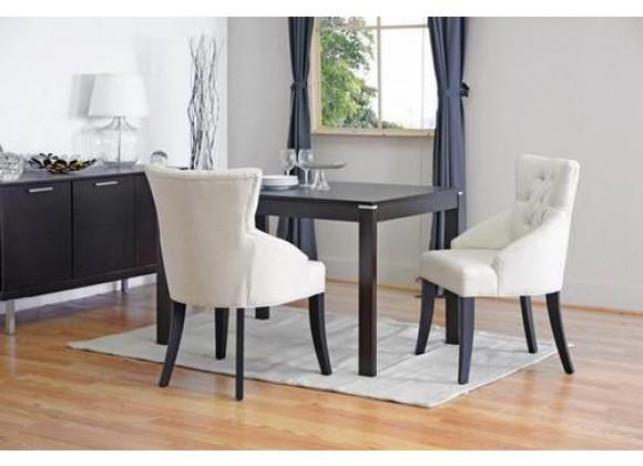Baxton Studio Halifax Beige Linen Dining Chair - Set of 2