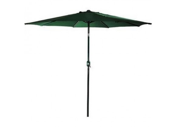 Bond Manufacturing 9 ft Market Polyester Umbrella - Green