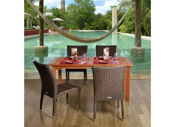 International Home Miami Amazonia Brugge 5-pc Dining Set