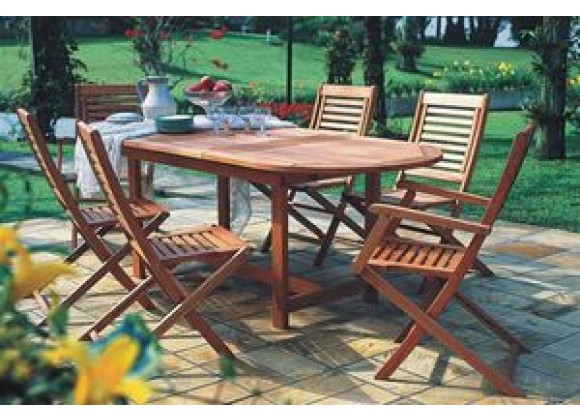 International Home Miami Amazonia Milano Extendable Seven Piece Set