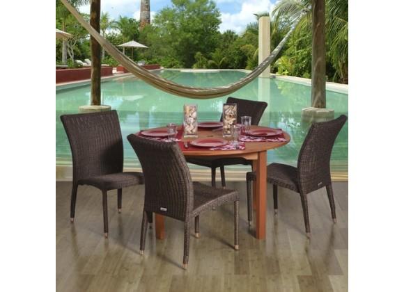 International Home Miami Amazonia Lorrainne 5-pc Dining Set