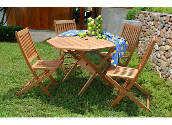 International Home Miami Amazonia Milano Octogon 5 Piece Set