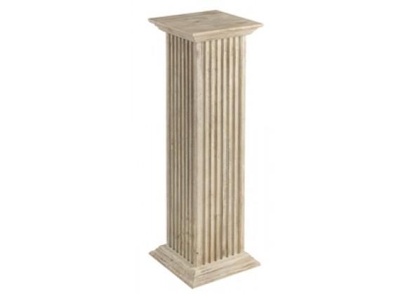 "Cooper Classics Square Fluted Pedestal 30"""