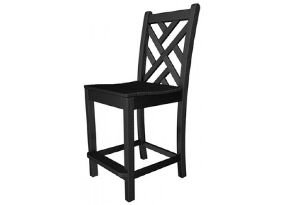 Poly-Wood Chippendale Counter Chair