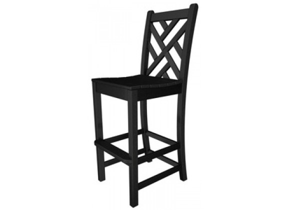 Poly-Wood Chippendale Bar Chair