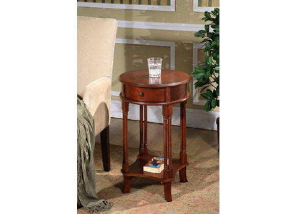 All Things Cedar Round Accent Table