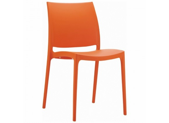 Compamia Maya Dining Chair Orange - Set of 2