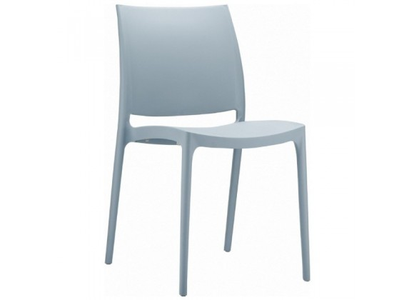 Compamia Maya Dining Chair Silver - Set of 2