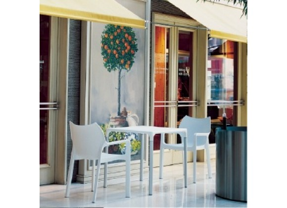 Compamia Diva Resin Outdoor Dining Arm Chair - Set of 2
