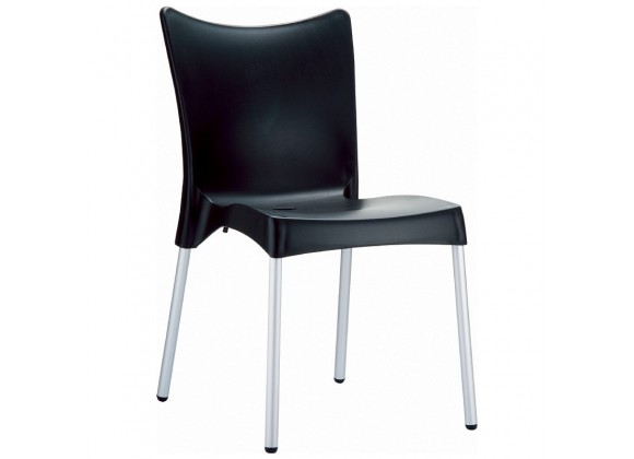 Compamia Juliette Resin Dining Chair Black - Set of 2