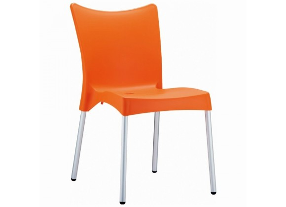 Compamia Juliette Resin Dining Chair Orange - Set of 2