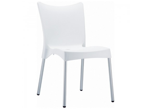 Compamia Juliette Resin Dining Chair White - Set of 2