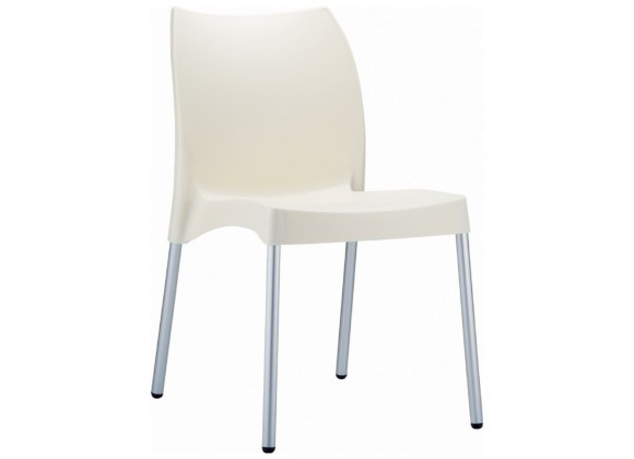 Compamia Vita Resin Outdoor Dining Chair Beige - Set of 2