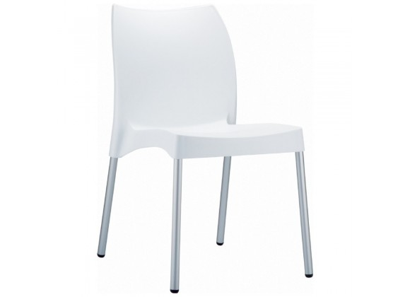 Compamia Vita Resin Outdoor Dining Chair White - Set of 2