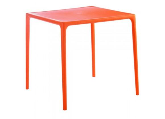 Compamia Mango Square Dining Table Orange 28 inch
