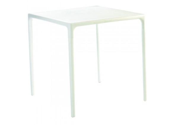 Compamia Mango Square Dining Table White 28 inch