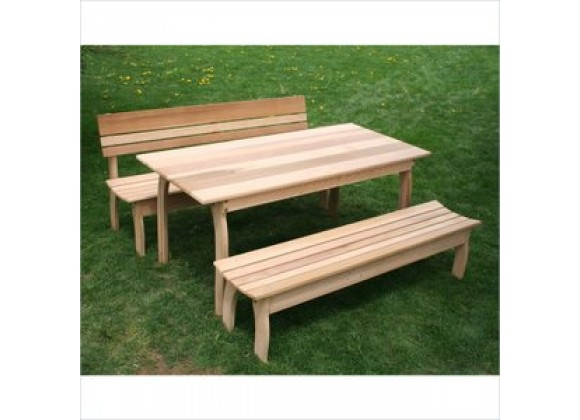 Creekvine Designs Cedar Odd Couple Dining Set