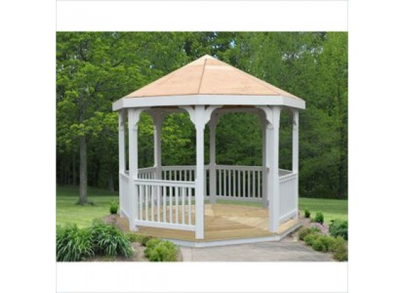 Creekvine Designs 10-Ft Vinyl Gazebo