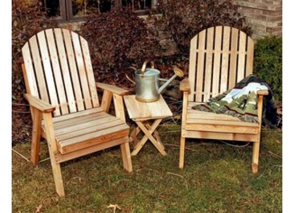 Creekvine Designs Cedar Fanback Patio Chair