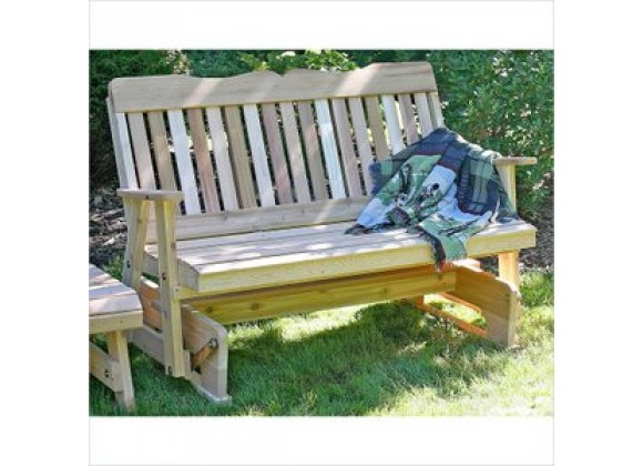 Creekvine Designs 2-Inch Cedar Countryside Rocking Glider