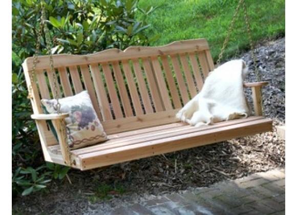 Creekvine Designs 5' Cedar Countryside Porch Swing
