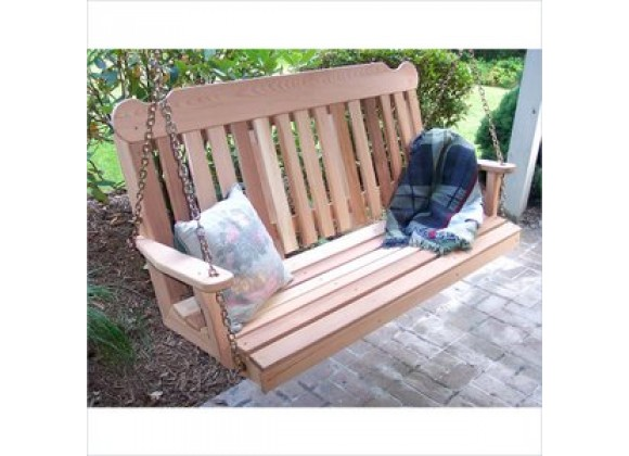 Creekvine Designs 4-Inch Cedar Classic Porch Swing