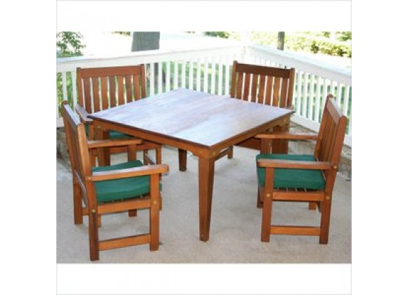 Creekvine Designs 47-Inch Cedar Get-Together Dining Set