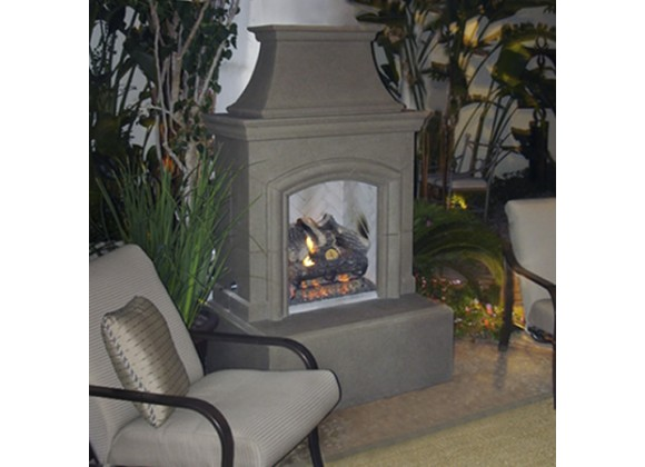 American Fyre Designs Chica Outdoor Fireplace