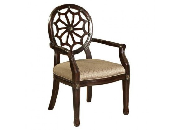 Powell Spider Web Back Accent Chair