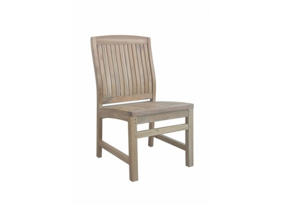 Anderson Teak Sahara Non-Stack Dining Side Chair