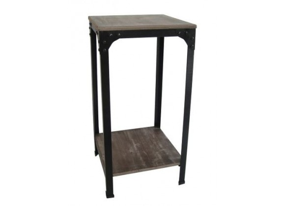 Screen Gems Industrial Side Table - Set of 2