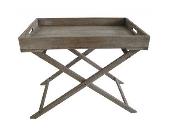 Screen Gems Industrial Tray Table