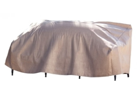 "Duck Covers Elite Patio Loveseat Cover - Up to 52L x 37D x 35""H"
