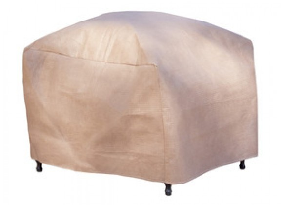 "Duck Covers Elite Patio Ottoman / Side Table Cover - Up to 28L x 25W x 18""H"