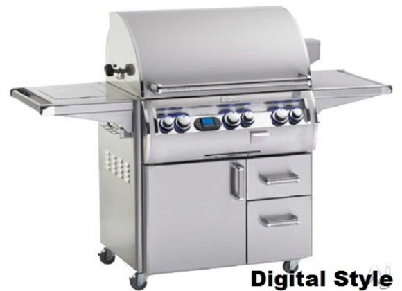Fire Magic Echelon Diamond E790s Grill w/Flush Mounted Single Side Burner