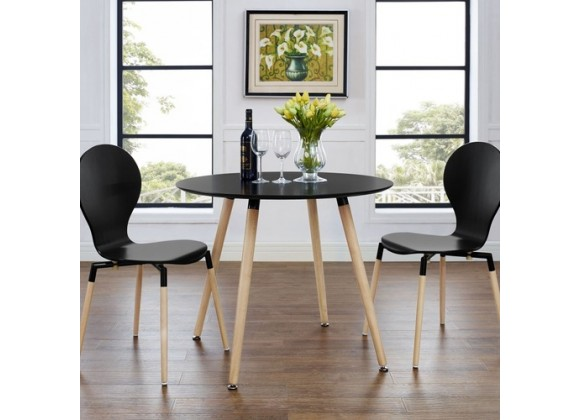 Modway Track Circular Dining Table